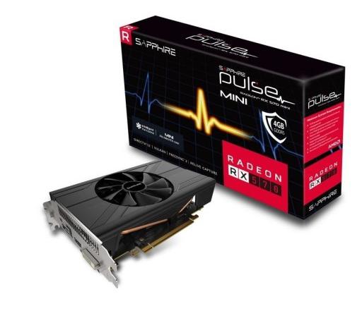 Sapphire RX570 Pulse ITX 4GB GDDR5 PN: 11266-34-20G